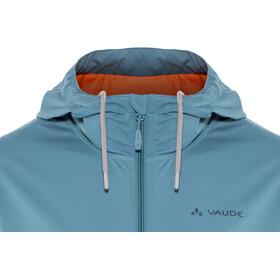 VAUDE Cyclist Softshell-takki Miehet, blue gray